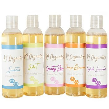 Sample K9 Organics shampoo for free