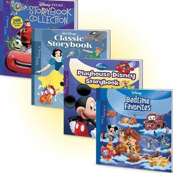 Win 1 of 5 bedtime bundles from Disney
