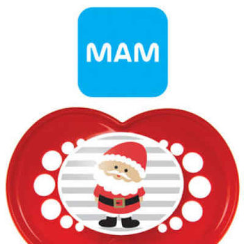 Free MAM Christmas Soothers