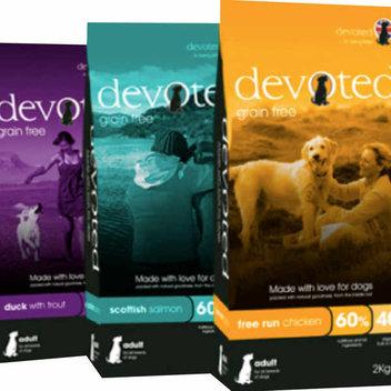 Free sample of Devoted Pet Food