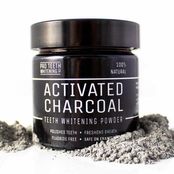 Free teeth whitening Activated Charcoal powder