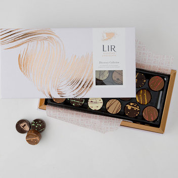 Try out a box of Lir Chocolates for free
