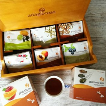 Get a free bundle of Adagio Tea