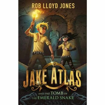 50 free copies of Jake Atlas and the Tomb of the Emerald Snake