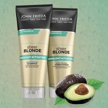 Redeem a John Frieda Avocado Oil shampoo