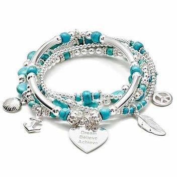 Win an Annie Haak silver charm bracelet