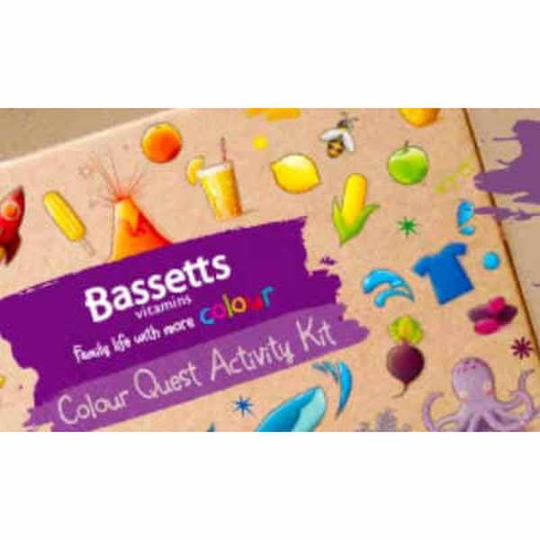 Claim a free Colour Quest Kit