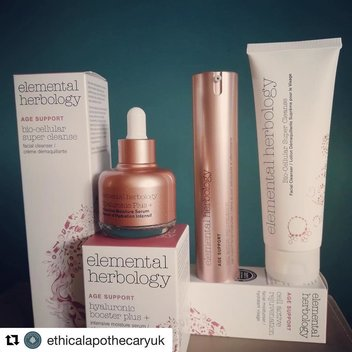 Claim a free bundle of Elemental Herbology anti ageing products