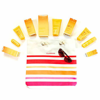 Late Summer Clarins Sun Set giveaway