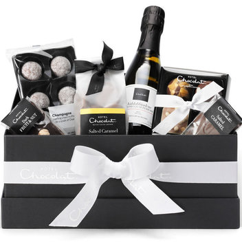 Snap up a free Hotel Chocolat Chocolate & Fizz hamper
