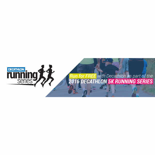 Free T-Shirt & Goody Bag with Decathlon Running Series