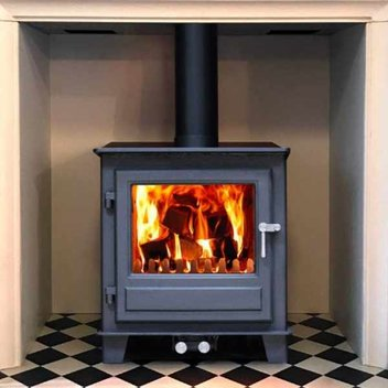 Warm your home with a free Clock Woodburner