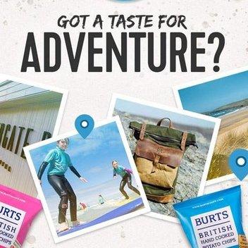 Discover adventure & Win Burts prizes