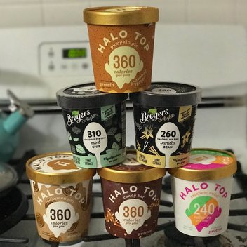 Take home a free tub of Breyers Delights