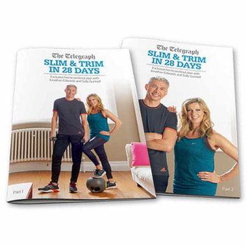 Free Slim and Trim in 28 days with Sally Gunnell and Jonathan Edwards