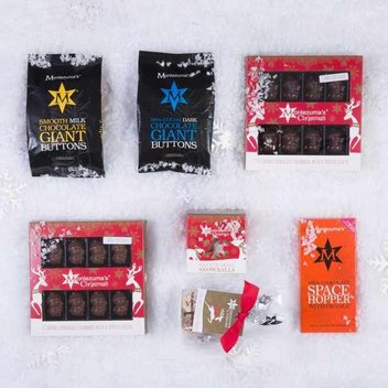 Win Montezuma's Chocolates Reindeer chocolate gift bag