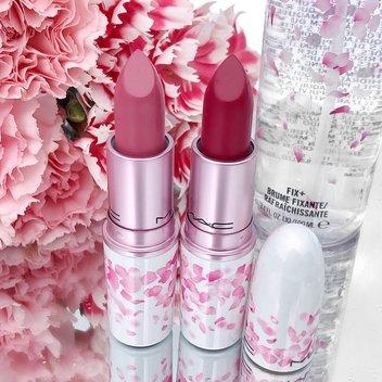 Win a pair of MAC Boom Boom Bloom lipsticks