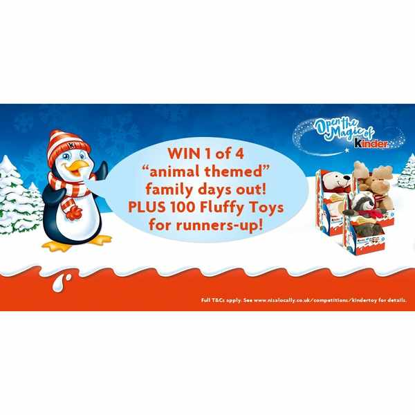 Get a free fluffy toy from Nisa