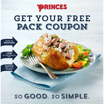 Claim a free Princes pack coupon
