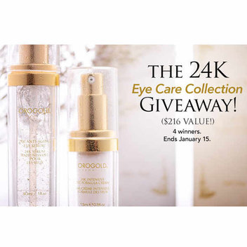 The 24K Eye Care Collection giveaway