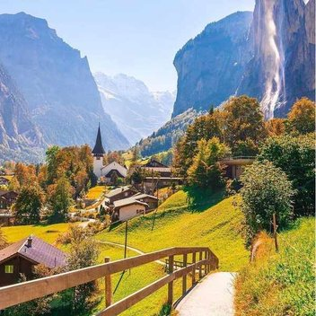 "Win a luxury stay in Switzerland"" worth £2,000"