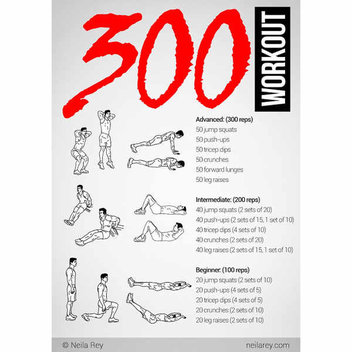 Free Workout posters