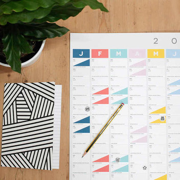 Free 2017 Wall Planner