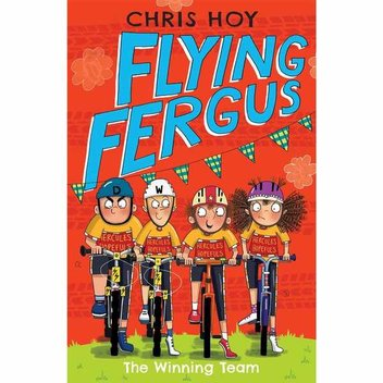 50 free copies of Flying Fergus 5: The Winning Team by Chris Hoy