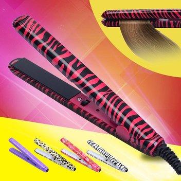 Take home a free zebra hair straightener
