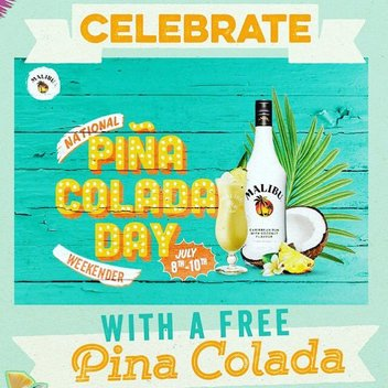 Celebrate Piña Colada Day with a free drink