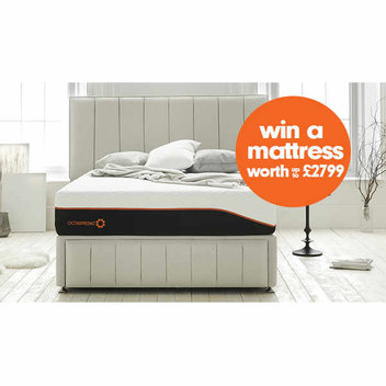 Win a luxurious mattress worth up to £2799
