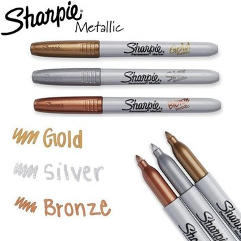 Pick up a free pack of Sharpie Metallic Markers