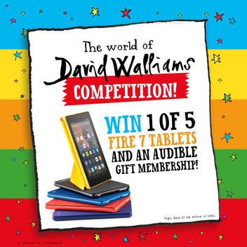5 Fire 7 tablets & Audible Gift Memberships up for grabs