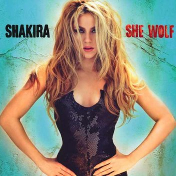 Get Shakira's new album She Wolf for free