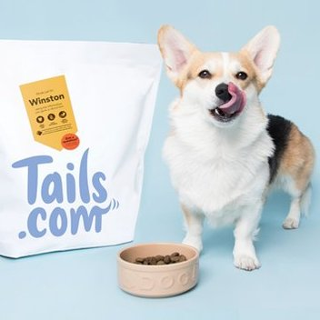 Get a 2 week supply of dog food from Tails