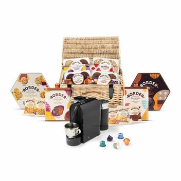 Win a coffee machine & luxury BORDER biscuits hamper