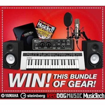 Win a special studio bundle prize worth £1400 from Red Dog Music