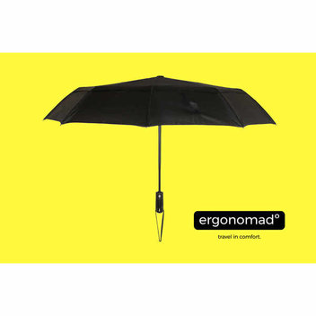 Keep dry with free ergonomad Undercover Umbrellas