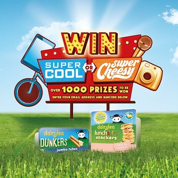 10,000 Dairylea prizes up for grabs