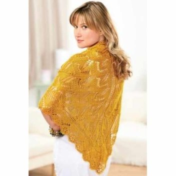 Get 9 free lace shawl knitting patterns from Let's Knit Magazine