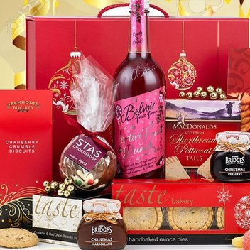 Dig in to Christmas treats with a free Sleigh Bells Hamper