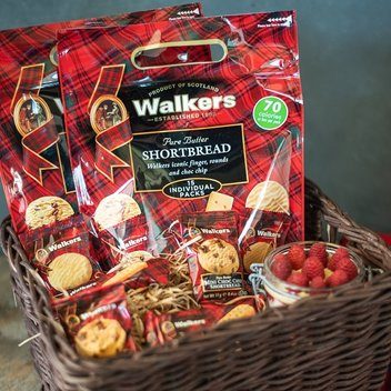 10 Walkers Shortbread hampers to be won