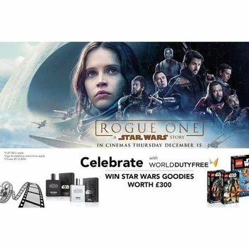 Win Star Wars and Rogue One Goodies worth £300