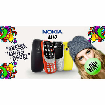 Win a Nokia 3310 from Fonehouse
