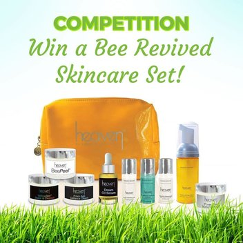 Win a Bee Revived Skincare Set from Heaven Skincare