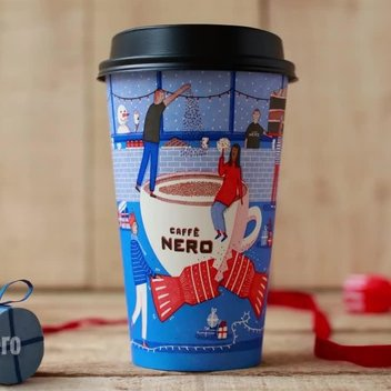 Warm up today with a free drink from Caffè Nero