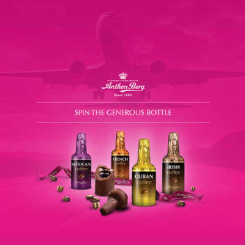 Enjoy some free chocolate liquer and a round-trip plane from Anthon Berg