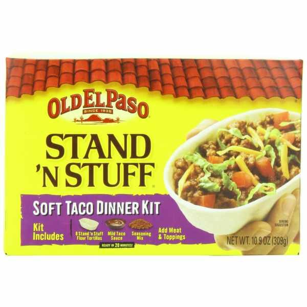 Get £1 off vouchers for Old El Paso Taco's