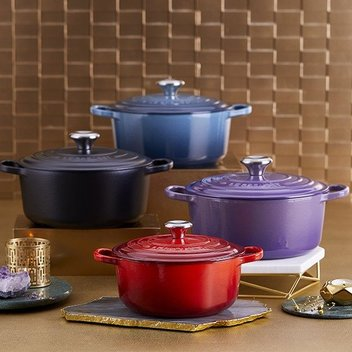 Secure a free set of Le Creuset cookware