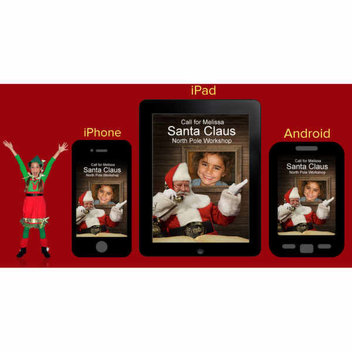 Free Personalized Phone Call from Santa Claus App